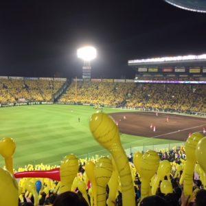 やっぱり西宮といえば甲子園ですね♪グルっと黄色でした!