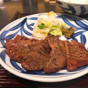 西北に行くついでに西宮ガーデンズでご飯を食べてきました❤️☺️久々の牛タンしっかり味わってきました👍