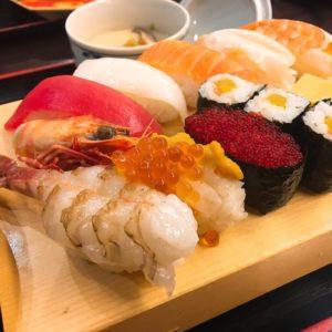 イオンモールでお寿司も食べました😊✨