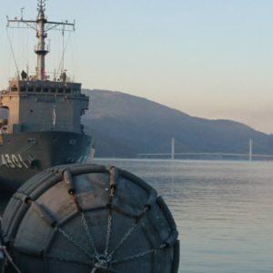 ❶休日に舞鶴へ♬迫力満点の護衛艦をこんなに近くで見る事ができました( ´∀`)