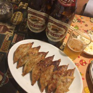 高知で有名な餃子を食べてきました☆たれがあっさりしてて美味しかったです♪