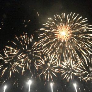 花火を見に淡路島まで行ってきました(*^^*)