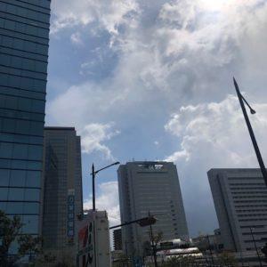 本日は、兵庫労働局へ行ってきました!今日はなんだか変な天気ですね・・・。草津⇒摂津⇒神戸⇒西宮⇒京田辺の弾丸スケジュールでしたtk