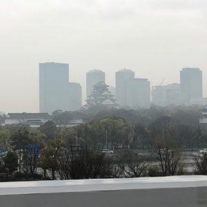 今日は、派遣先さまからのご紹介で南港方面へ営業活動に行ってまいりました!阪神高速の助手席からパシャリ★雨の日の大阪城!荘厳な佇まいですね!ちなみに事務のお仕事をいただきました!!南港で事務のお仕事をお探しの方は是非お問合せ下さい!tk