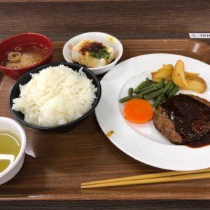 取引先様の社員食堂で10種類程のメニューの中からハンバーグ定食を頂きました。なんだか学生気分に戻り少しテンション上がりました。このボリュームで440円!お腹の充電バッチリなので商談に行ってきます♪JH from 京都南