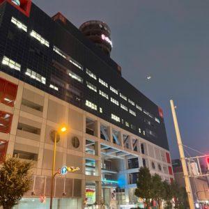 夕方に天満に営業訪問しました!辺りは暗くなり始めてますが、人通りが少ないですね。tk
